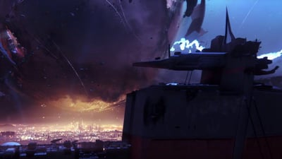 Destiny 2's Zero Hour Secret Ship is a Literal Pile of Junk