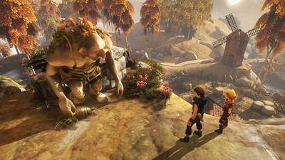 Brothers: A Tale of Two Sons is Coming to Switch With Co-Op and Director's Commentary
