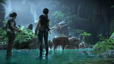 This Iconic 'Uncharted' Moment Was Almost Just Background Art