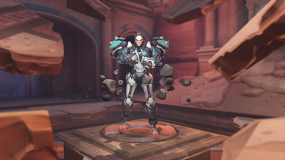 Behind the scenes of developing Sigma, Overwatch's latest hero