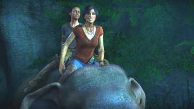 The Elephant Ride In Uncharted: The Lost Legacy Almost Didn't Happen
