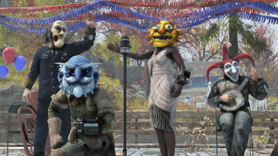 "Collect ""sweet loot"" and these terrifying masks in Fallout 76's upcoming seasonal event"