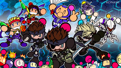 Metal Gear's Solid Snake, Naked Snake and Raiden join up for Super Bomberman R