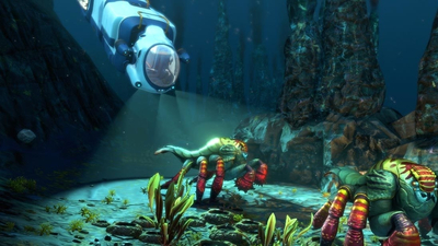 Subnautica: Below Zero's first big early access update adds the amazing, modular Seatruck