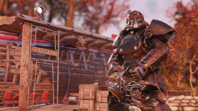 Fallout 76 player builds hilarious death trap that sends bodies flying