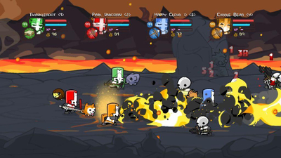 Castle Crashers: Remastered busts up Nintendo Switch on September 17