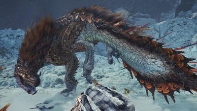 We Get Up Close and Personal With Monster Hunter World: Iceborne's Newest Monster: The Viper Tobi-Kadachi