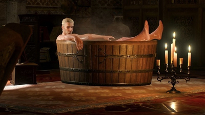 Witcher 3 'Geralt in Bath' statue goes up for preorder, costs $72 on Amazon