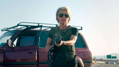 First Terminator Dark Fate Clip Puts Sarah Connor Back In Action