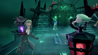 Sea Of Thieves Gets Spooky With New Fort Of The Damned Update