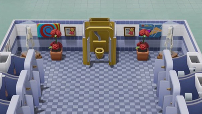 Two Point Hospital Golden Toilet: How to Get The Golden Toilet