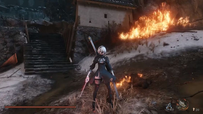 A Sekiro mod adds the one thing that makes all games better: more Nier