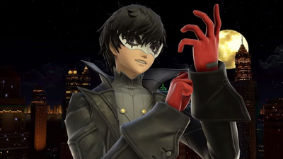 Joker from Persona 5 hits Super Smash Bros. Ultimate today