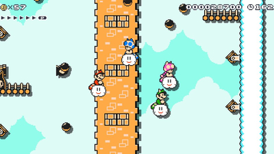 Super Mario Maker 2's surprise best new feature: chaotic multiplayer