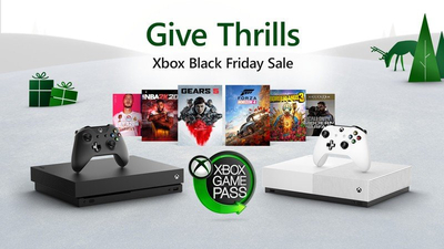 Xbox previews Black Friday deals, consoles and controllers discounted