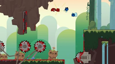 Super Meat Boy Forever will have 'ridiculously hard' DLC, says designer