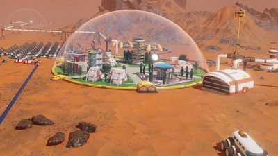Surviving Mars: Green Planet expansion allows you to terraform Mars