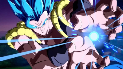 Dragon Ball FighterZ Shows Off Gogeta [SSGSS] In Action