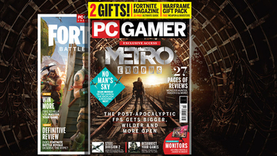 PC Gamer UK October issue: Metro Exodus | PC Gamer
