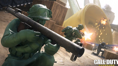 Call of Duty: WWII's new summer map adds little green army men