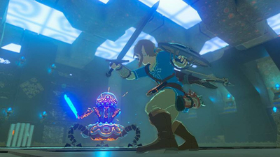 You'll be able to play Breath of the Wild in VR via Labo, and some Mario too