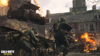 The Surprising Way Call Of Duty: WWII Devs Captured Some Of The Game's Sounds