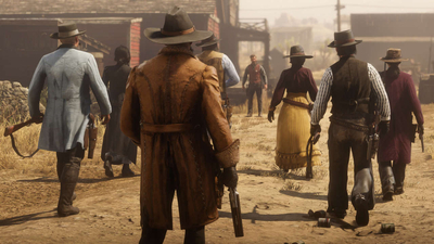 Red Dead Redemption 2 Online Update Adds New Mode And Cosmetic Items