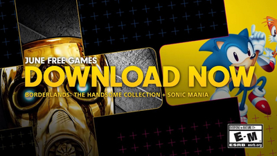 Sonic Mania And Borderlands: The Handsome Collection Are Free On PlayStation Plus In June