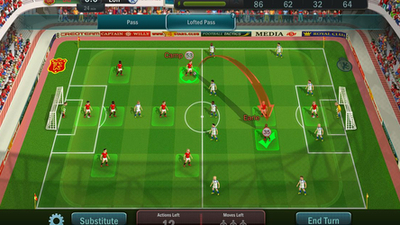 Turn-based soccer is (almost) as much fun as the World Cup