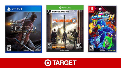 Target Is Running A Buy One, Get One 50% Off Sale On Newly Released Games