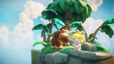 Mario + Rabbids: Kingdom Battle — Donkey Kong Adventure releases this month