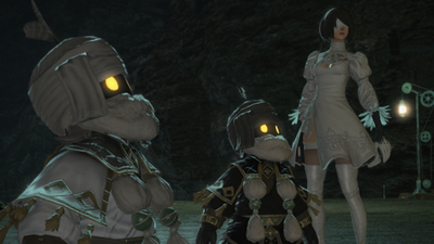 Final Fantasy 14's NieR-Inspired Raid's Release Date Revealed Alongside New Trailer - IGN