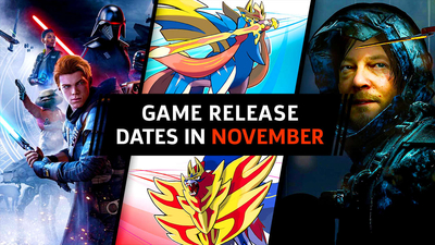 November Game Release Dates (2019): PS4, Nintendo Switch, Xbox One, PC - GameSpot
