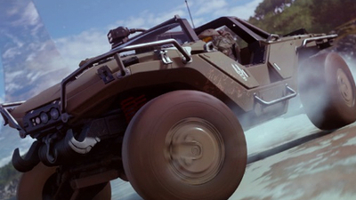 Forza Horizon 4 leak shows potential event inspired by Halo's Silent Cartographer mission | PC Gamer
