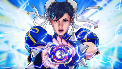 Now we know what Chun-Li looks like as a Power Ranger