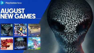 PlayStation Now August 2018 Lineup Adds XCOM 2, Another World and More