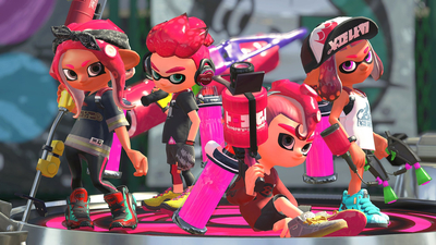 Splatoon 2 Is About to Lose the Title of Japan's Best-Selling Switch Game