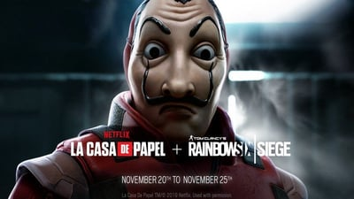 Rainbow Six Siege unveils 'Money Heist' Netflix crossover event