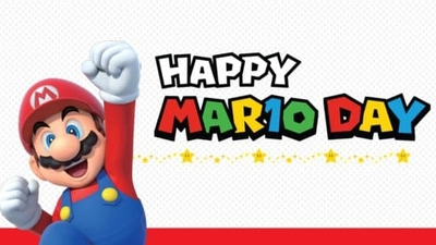 It's 10th March - happy MAR10 Day!
