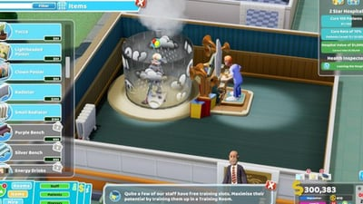 Two Point Hospital Research Centre: How to Research New Rooms