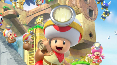 Where Captain Toad: Treasure Tracker came from