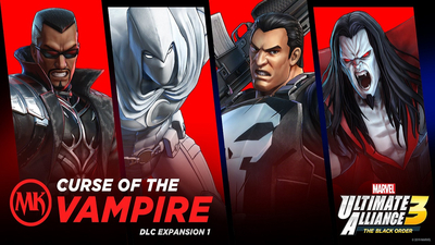 Marvel Ultimate Alliance 3 First Expansion, Curse Of The Vampire, Arrives September 30