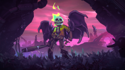 Double Fine Goes Rogue(lite) With Rad, A Fresh View Of The Post-Apocalypse - GameSpot