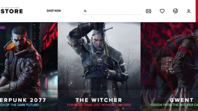 CD Projekt Red Opens Official Merch Store