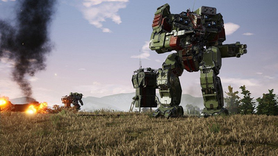 MechWarrior 5: Mercenaries launch trailer shows heavy metal action