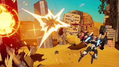 Daemon X Machina Just Got Competitive Multiplayer
