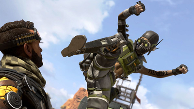 Apex Legends players are punching supply crates to fly across the map
