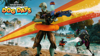 Warframe celebrates summer with Dog Days, a beach-themed event