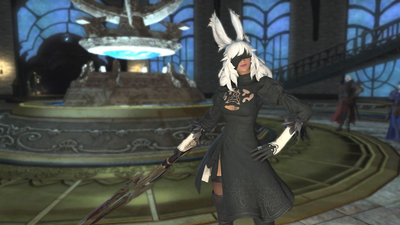 Nier: Automata comes to Final Fantasy 14, now everyone can dress like 2B