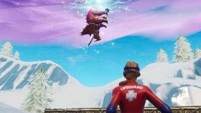 Fortnite's newest patch is about time travel gone wrong